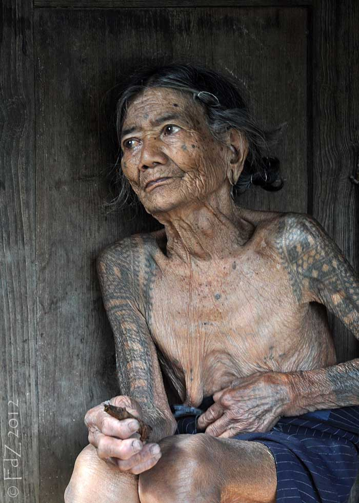Old Women with Tattoos