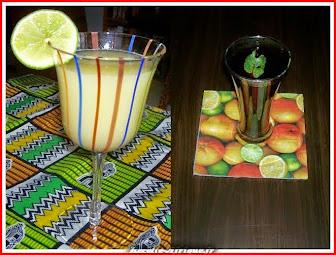 Recettes de Jus de Fruits Sirops à l'Africaine