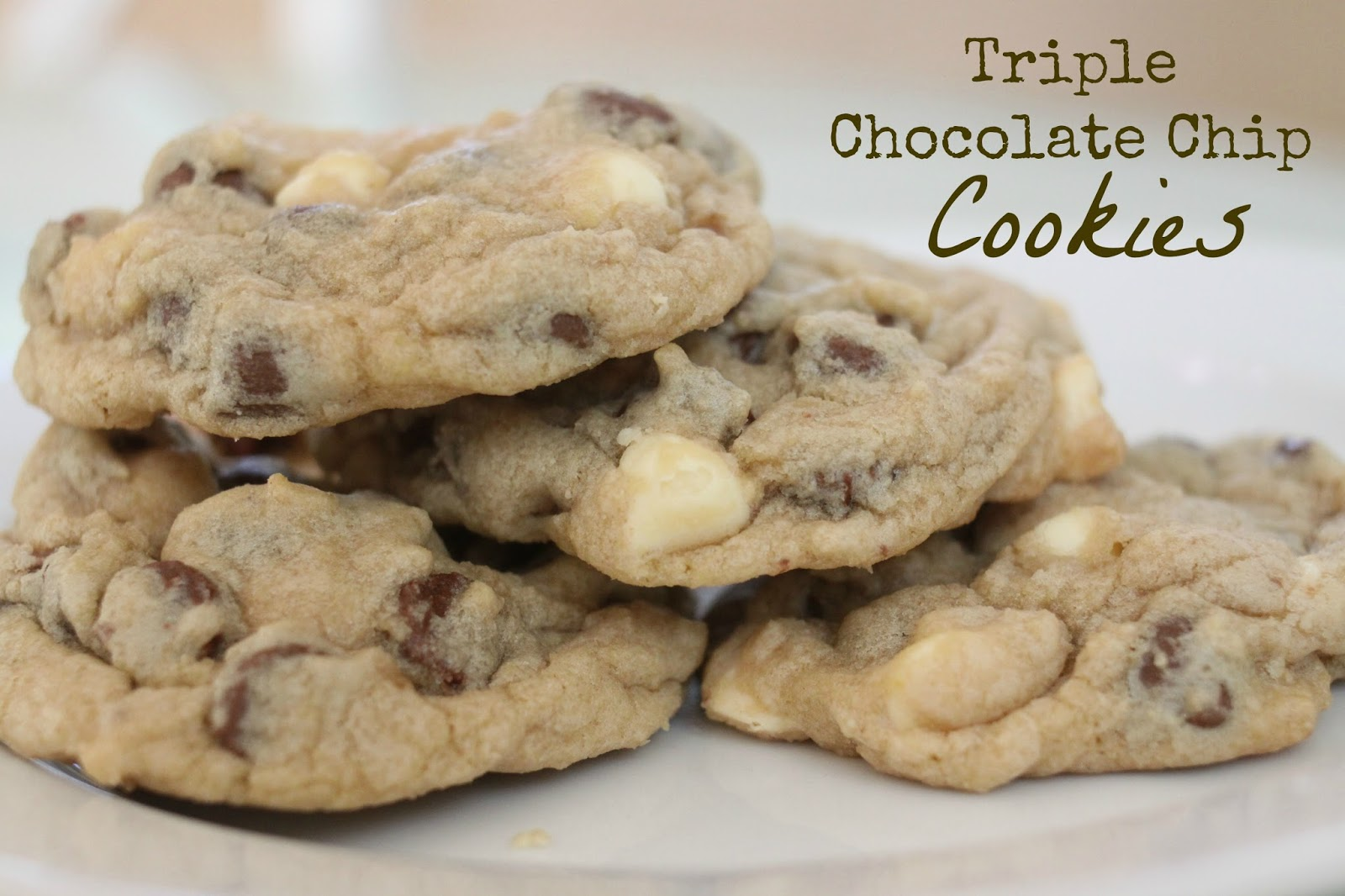 The Larson Lingo: Triple Chocolate Chip Cookies + A New Baker!