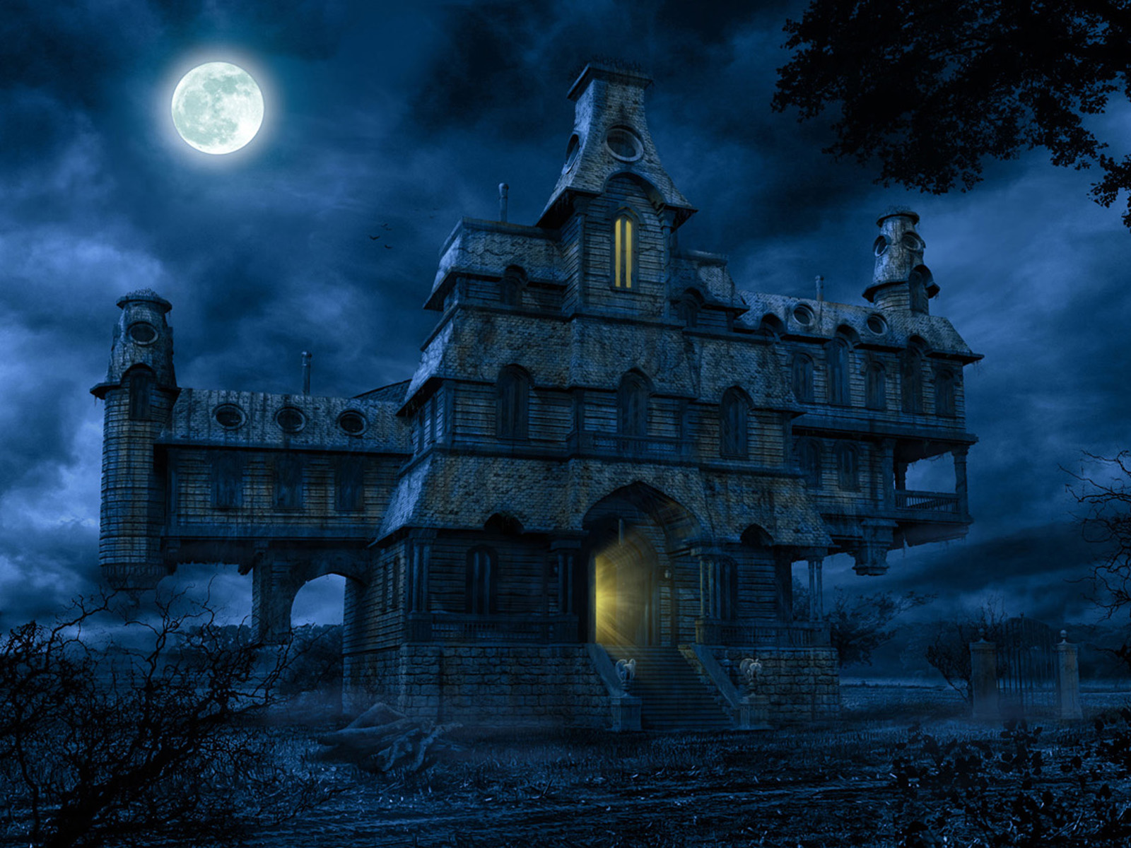 Xs wallpapers hd horror house wallpapers for Wallpaper home photos