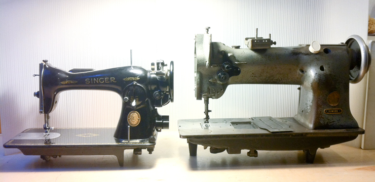 The Vintage Singer Sewing Machine Blog The Difference Between Unique Industrial Singer Sewing Machine For Sale