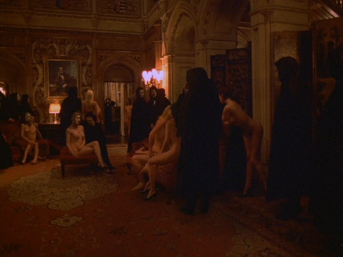 Love suck Eyes wide shut dvd time orgy video! the