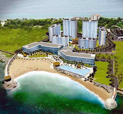 Amisa Leisure Resort Condominium Towers Mactan - Beachfront Property
