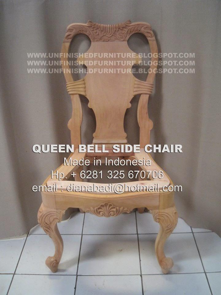 Unfinished Mahogany Furniture