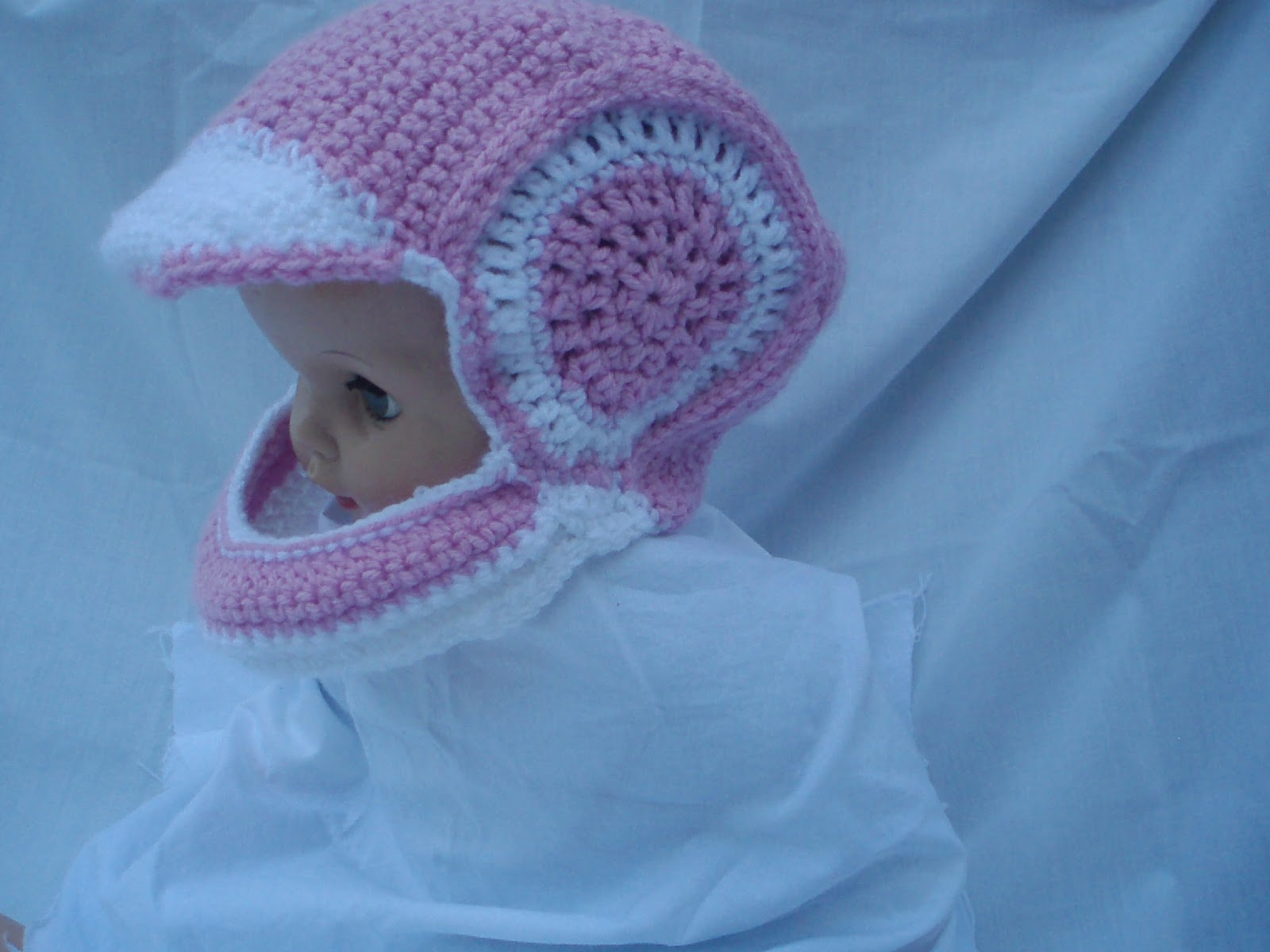 Kierstyns Kreations Crocheted Motorcycle Helmet And Boots