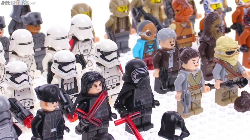 all lego star wars force awakens