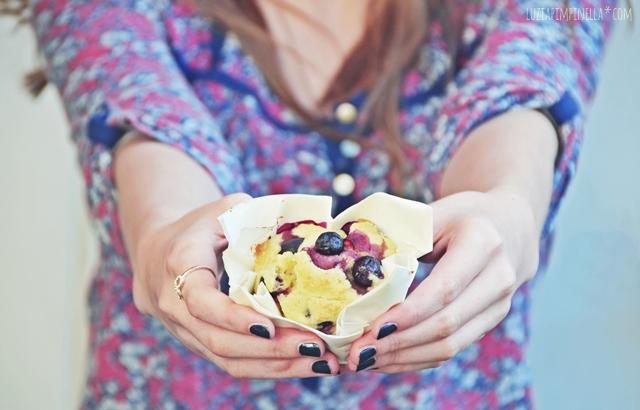 rezept fuer blaubeer-muffins | recipe for blueberry muffins | luziapimpinella.com