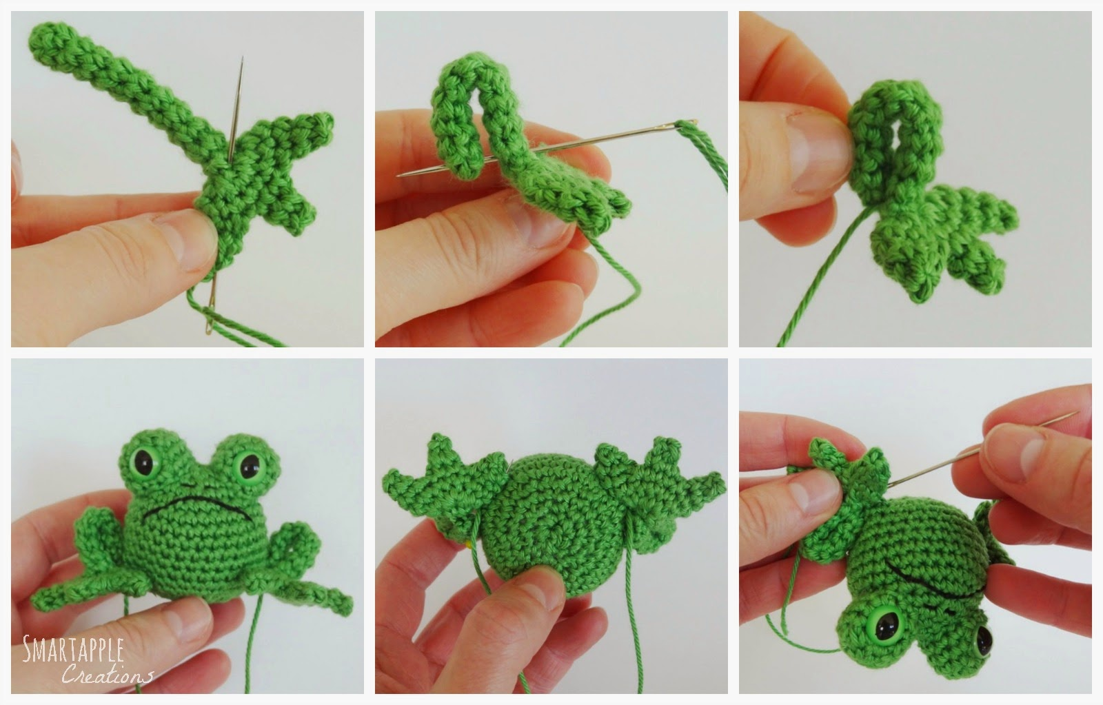 Amigurumi Frog Free Pattern : Smartapple Creations - amigurumi and crochet: Free pattern ...