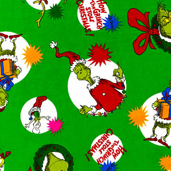 Fort Worth Fabric Studio Quilt Feature How The Grinch