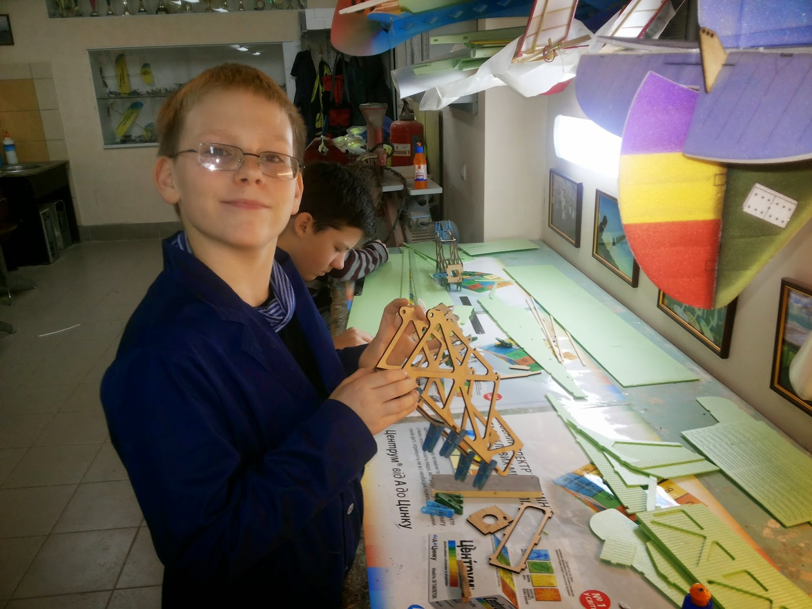 Авиамодельный кружок Киев