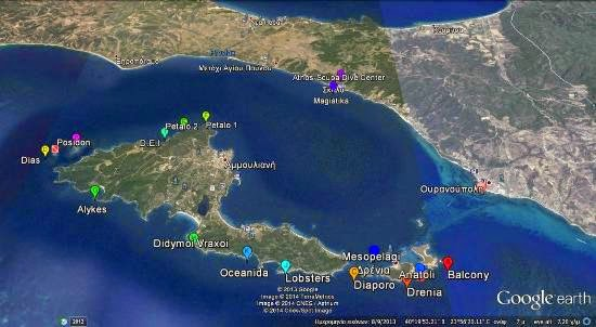 Athos Scuba Diving Center Ammouliani Island Halkidiki Greece