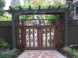 Perfect Wood Gate Design