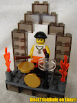 BRICK TRICK DESIGN: DRUM SET AND STAGE BUILDING KIT