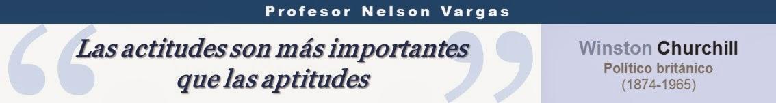 Blog del Profesor Nelson Vargas
