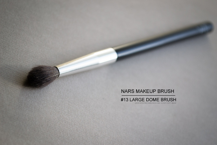 NARS #13 Large Dome Eyeshadow Blending Makeup Brush - Review