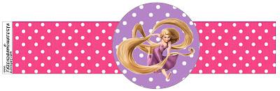 Servilleteros de Rapunzel.