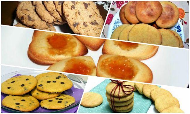5 recetas de galletas fáciles