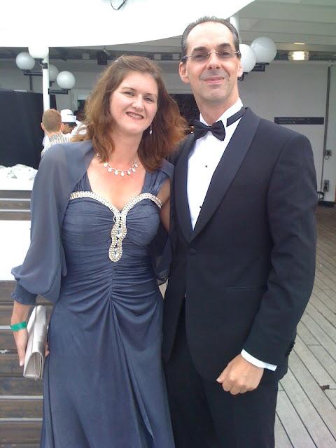 SS Rotterdam Gala Evening