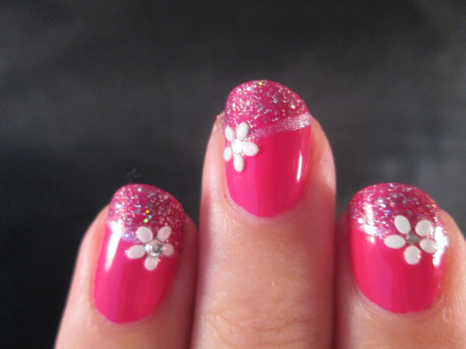 PiggieLuv: Birthday nail art