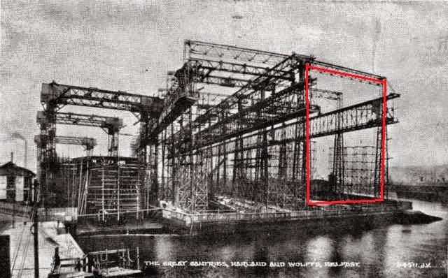 R m s titanic el cambio de harland and wolff - Construccion del titanic ...