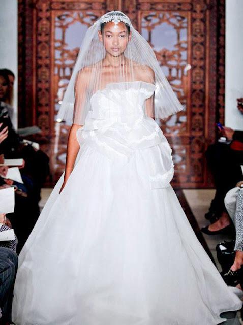 Fall Wedding Dresses 2013 From Reem Acra