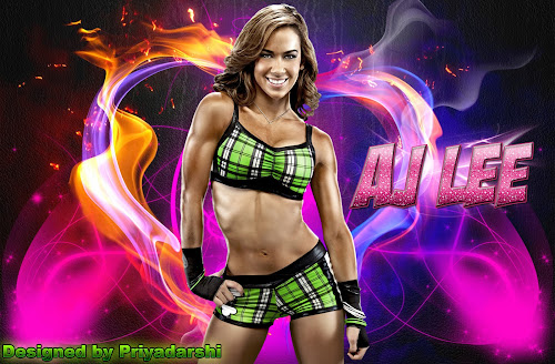 "Download ""AJ Lee"" HQ Free Wallpaper (Designed By Priyadarshi Mahapatra), aj lee wallpaper, divas champion aj lee wallpaper"