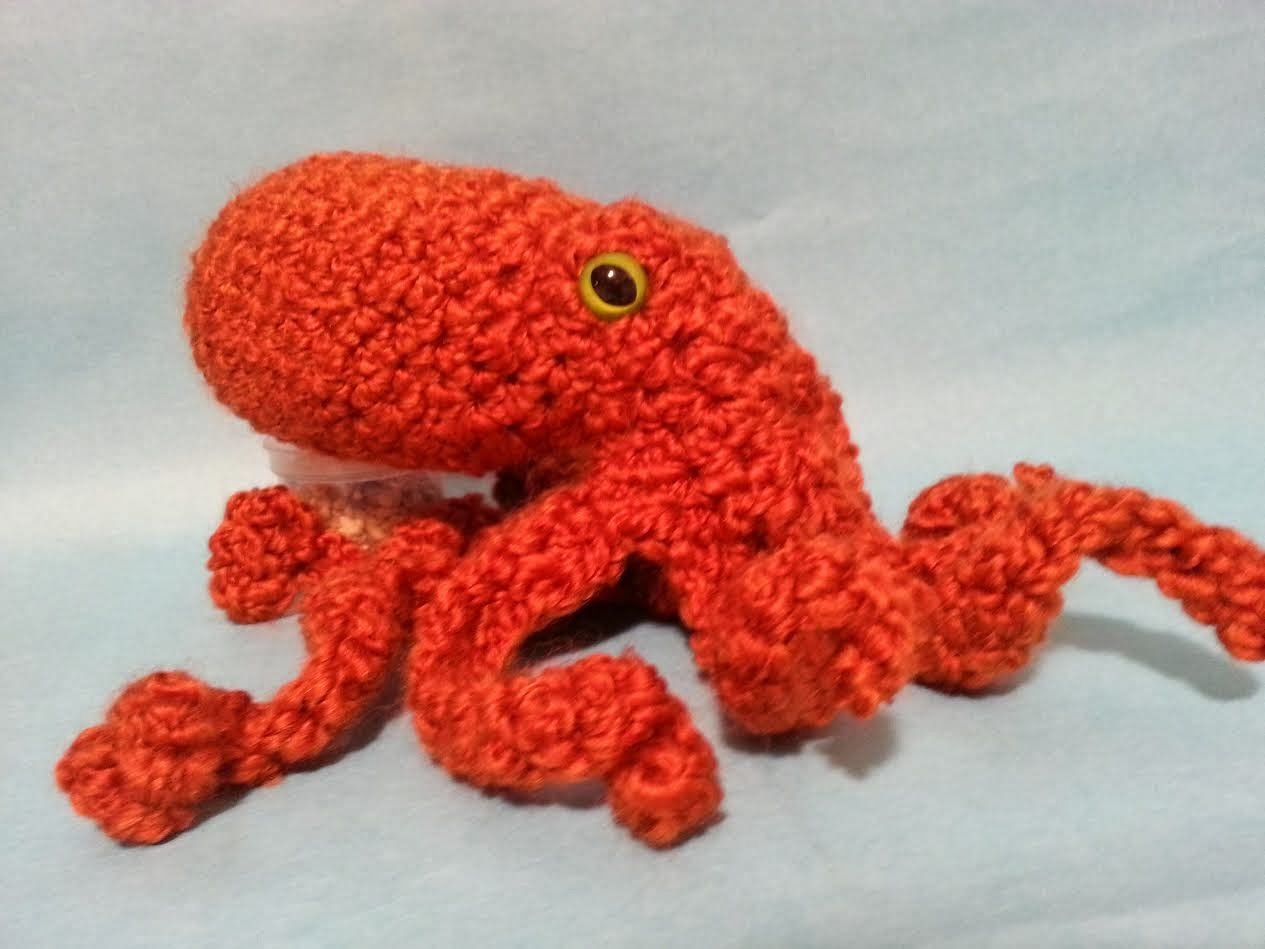Crochet Pattern Preview: Giant Pacific Octopus | The Soft Scientist
