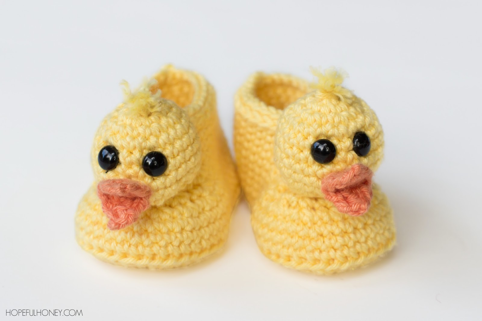 Hopeful Honey Craft, Crochet, Create: Duckling Baby ...
