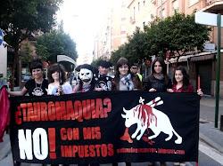 Manifestación Antitaurina en Murcia (20-2-2011):