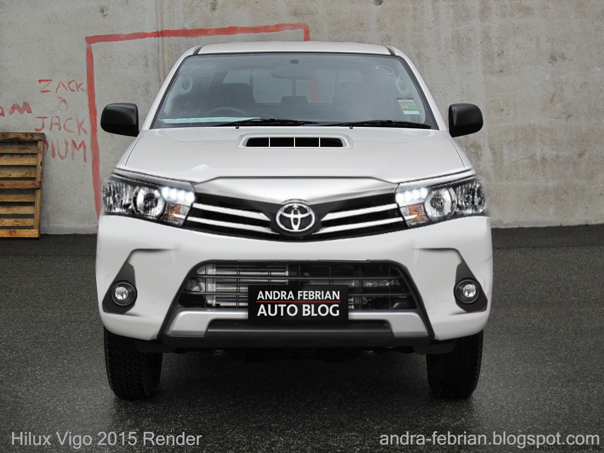 Rendering Toyota Hilux 2015