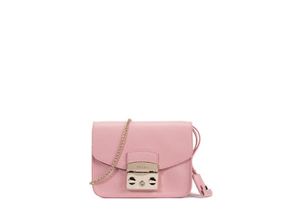 Pink Furla Metropolis Bag