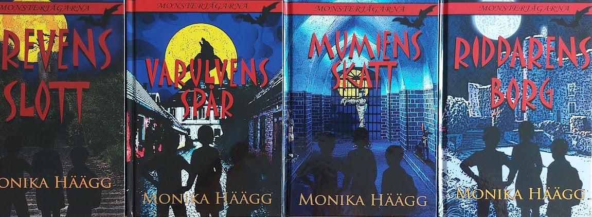 Monsterjägarna - barnböcker för 6 - 9 år