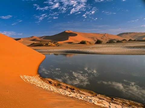 El Desierto Calcinante de Egipto