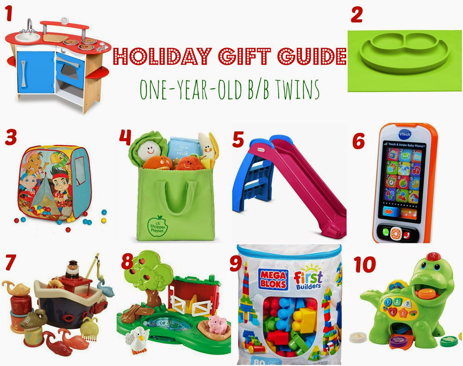 Top Presents for One Year Old Pictures
