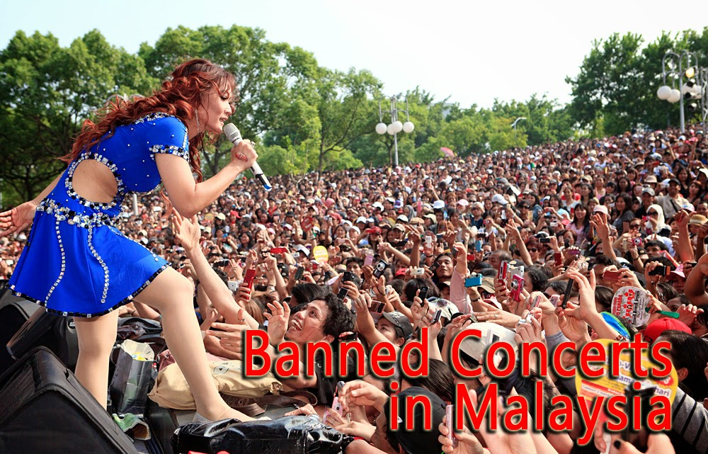 Banned Concerts and Shows in Malaysia