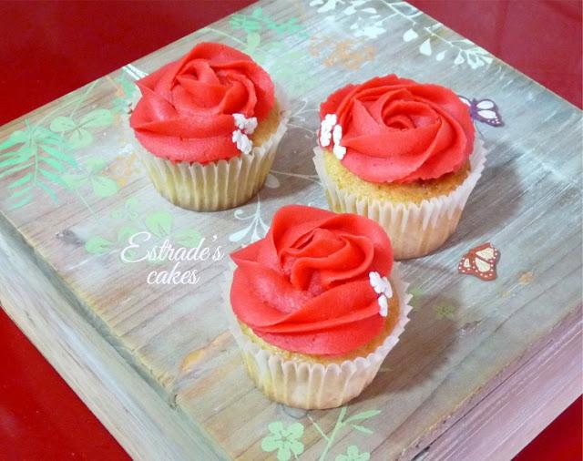 cupcakes de Navidad con buttercream - 4