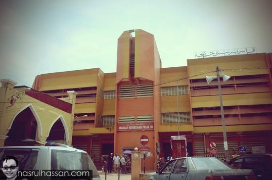 Foto Pasar Besar Siti Khadijah, Kota Bharu, Kelantan