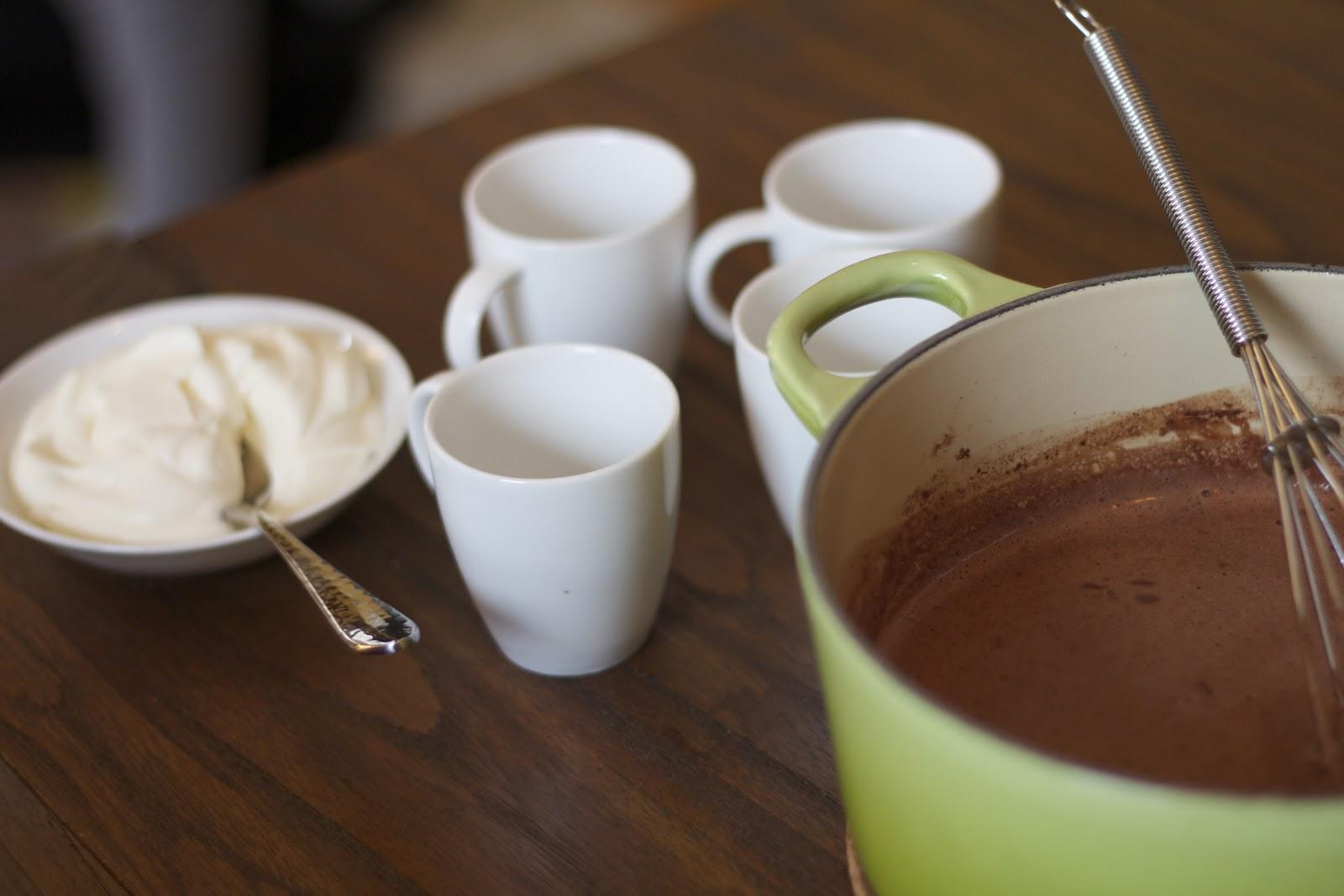 Dish and Tell: Le Chocolat Chaud
