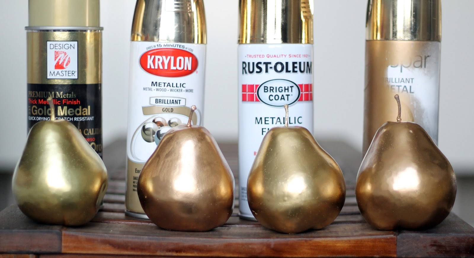 Answering which gold spray paint is best chris loves julia for How to make metallic paint