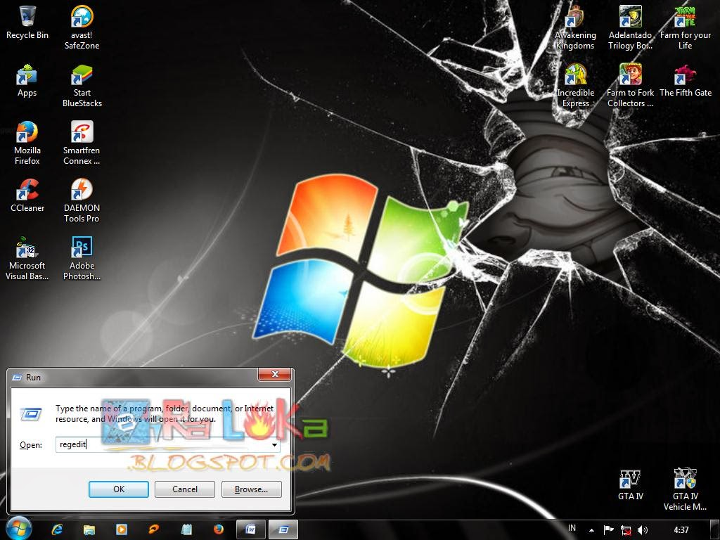 Cara Merubah Background Logon Screen Win7