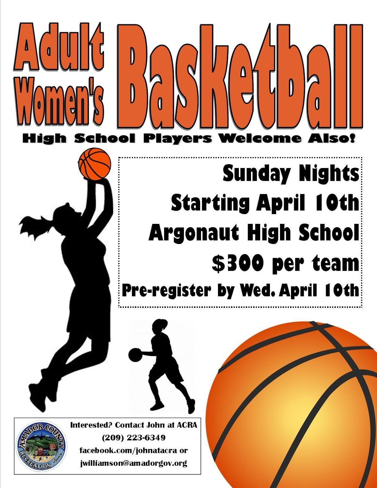 Women's Basketball - Starts Apr 10