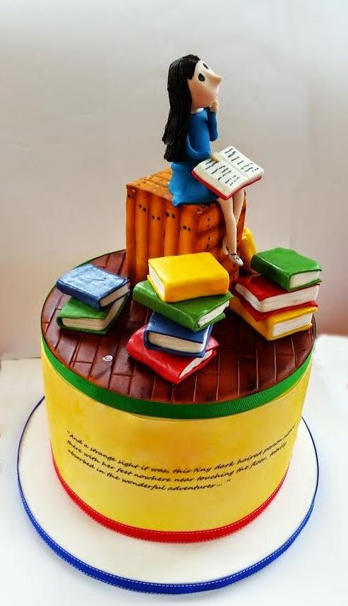 Matilda Cake Topper