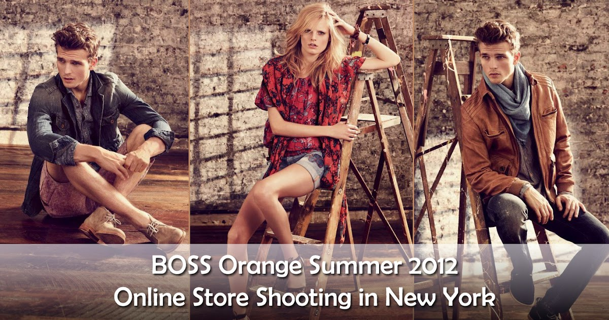 boss new orange collection 2012 for summer latest boss. Black Bedroom Furniture Sets. Home Design Ideas