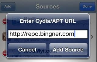 Repo Bingnger Cydia