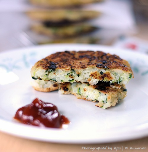 Zucchini and Potato Fritters | Farm Fresh Produce