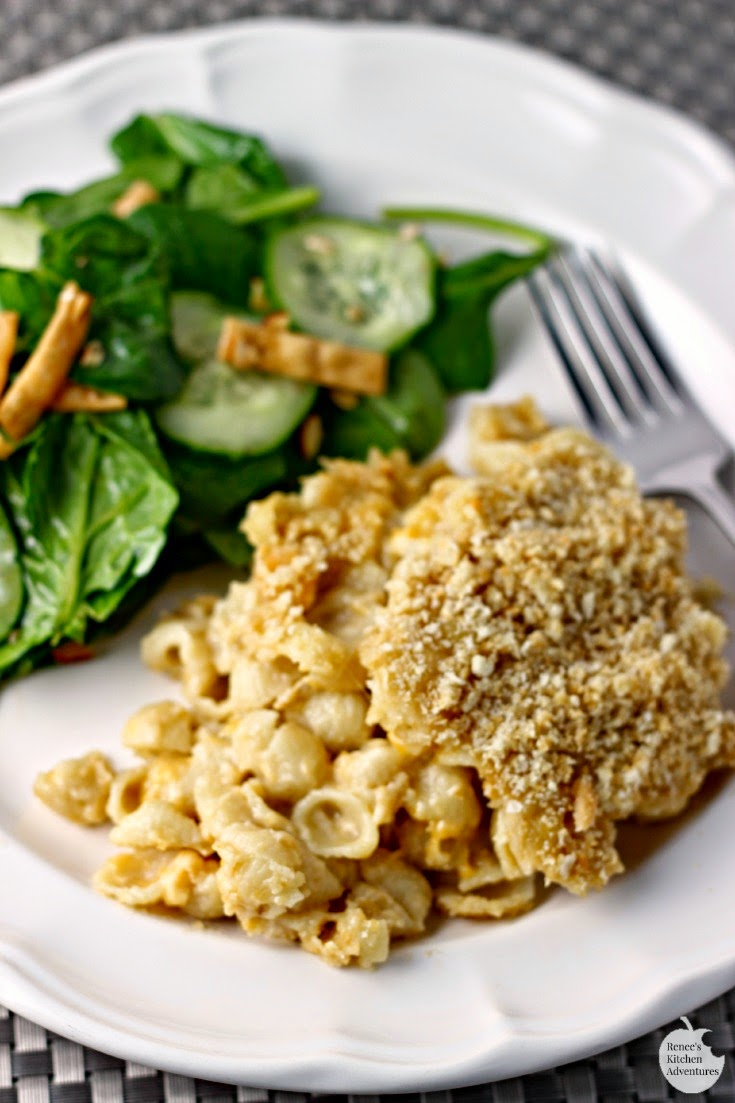 Make Over Mac and Cheese | Renee's Kitchen Adventures:  All the comfort, with less guilt!