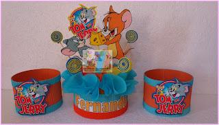 Download Contenedor Y Centro De Mesa Tom Y Jerry