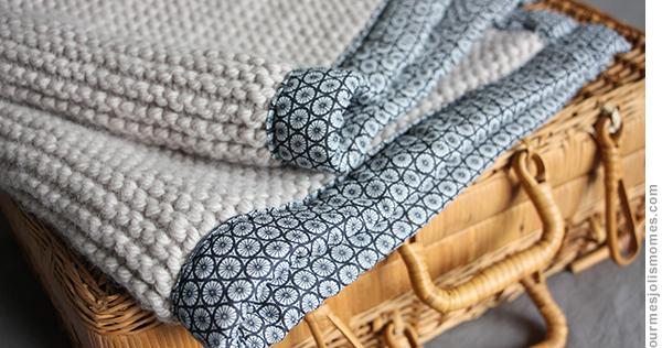 pour mes jolis m mes mais pas que baby blanket tricot. Black Bedroom Furniture Sets. Home Design Ideas