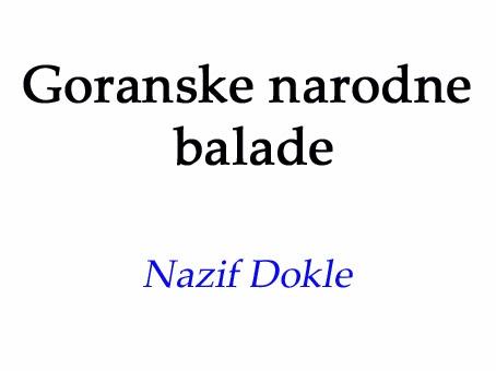 Goranske narodne balade