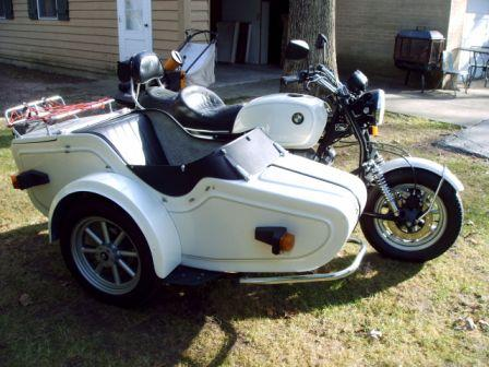 Red Devil Motors  EML BMW sidecar outfit